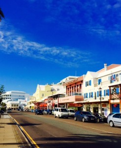 Front Street, Hamilton: best shopping in Bermuda