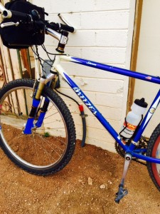The Breezer mountain bike loaner.