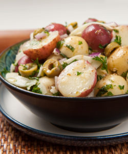Potato Herb Salad--or, in Italian, Insalata de patate ed erbe