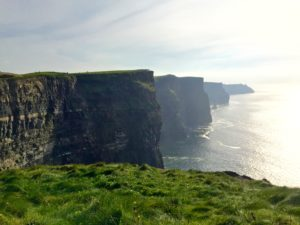 The stunning Cliffs of Moher.